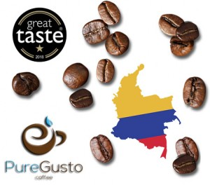 PureGusto Colombian Rio Magdalena Coffee Beans 6KG